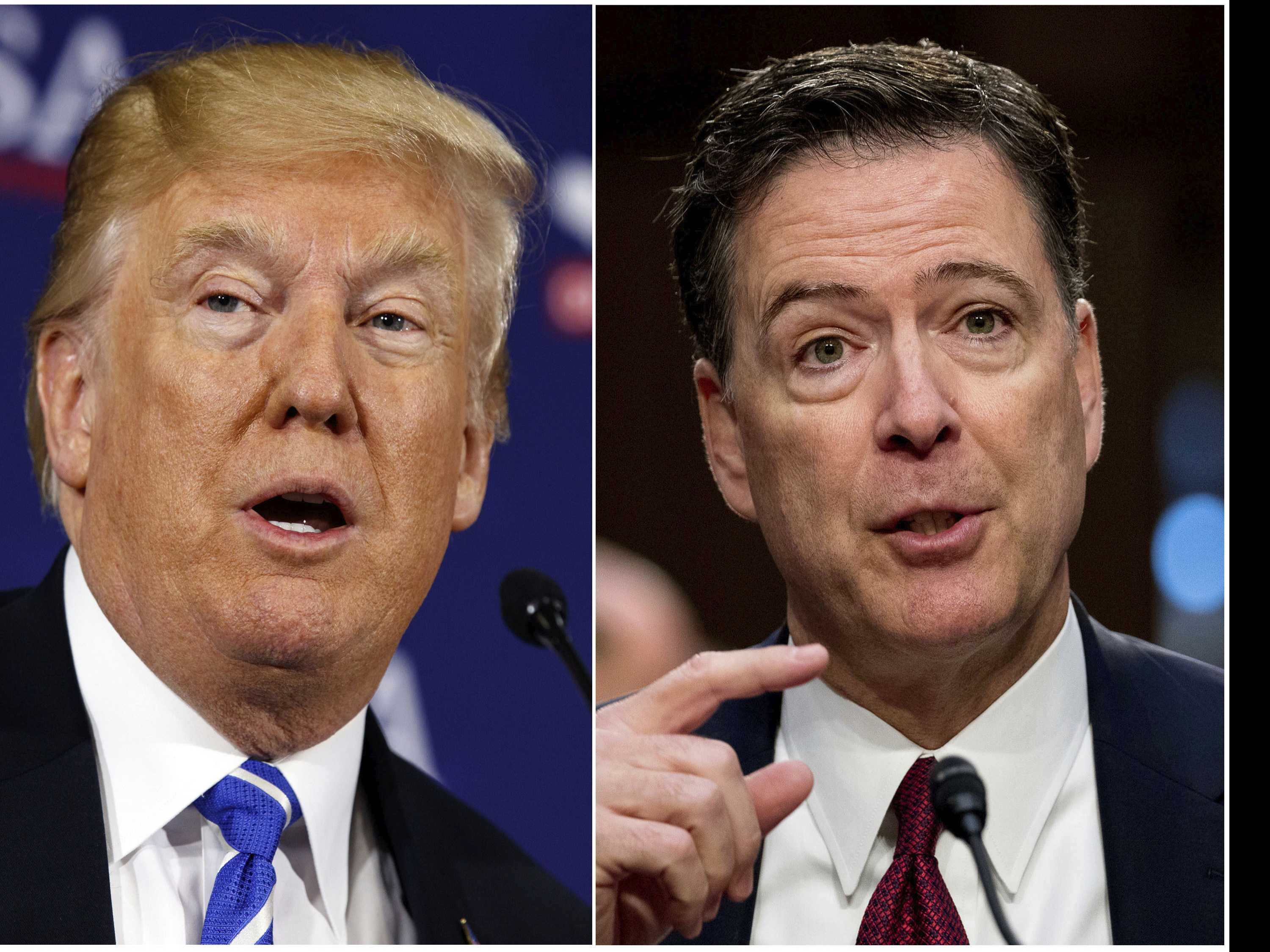 AP FACT CHECK: Trump Twists Comey Role in Clinton Disclosure