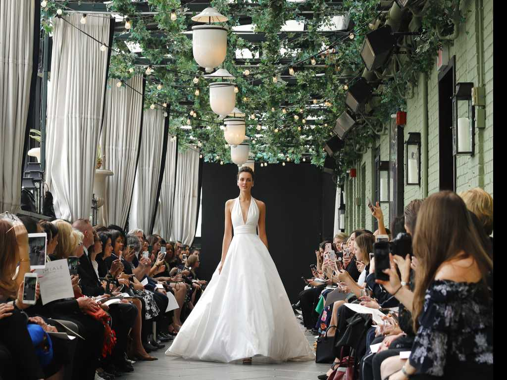 A Somber Close to Bridal Fashion Week Honors Amsale Aberra
