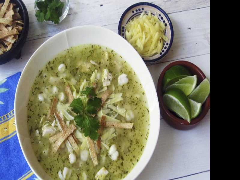 Recipe: Green Pozole with Chicken