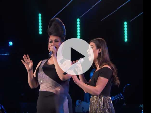 Watch: Drag Queen 'American Idol' Contestant Continues to Slay, Sings 'Defying Gravity' with Lea Michele