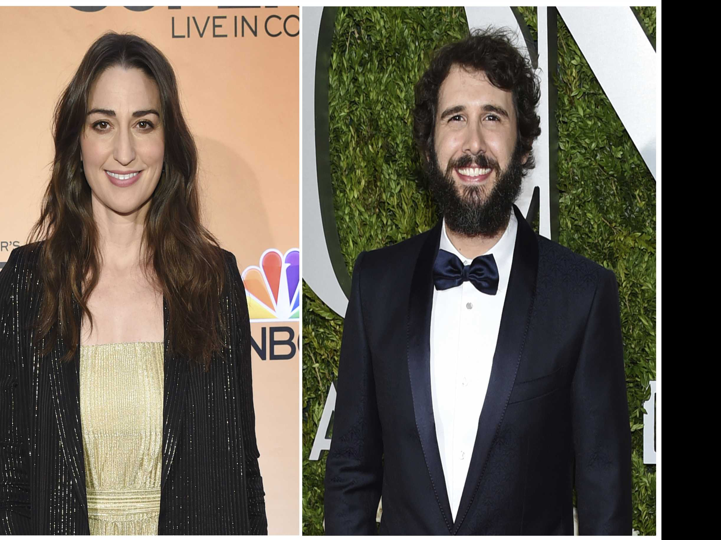 Sara Bareilles and Josh Groban to Co-Host Tony Awards