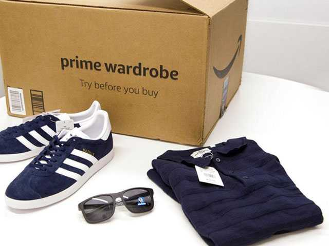 Amazon Brings Fitting Room Home with Prime Wardrobe