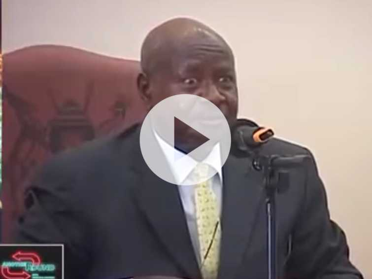Watch: Uganda President Wants to Ban Oral Sex Because 'the Mouth is for Eating'