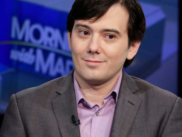 'Pharma Bro' Moves to New Jersey - for Federal Prison Stay