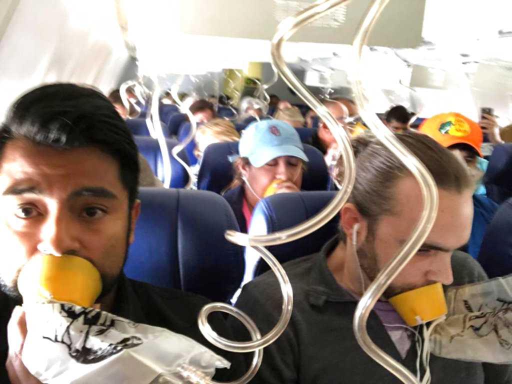 Stop with the Selfies: An Oxygen Mask Can Save Your Life
