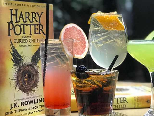 Harry Potter Gets Boozy at Hudson Hotel