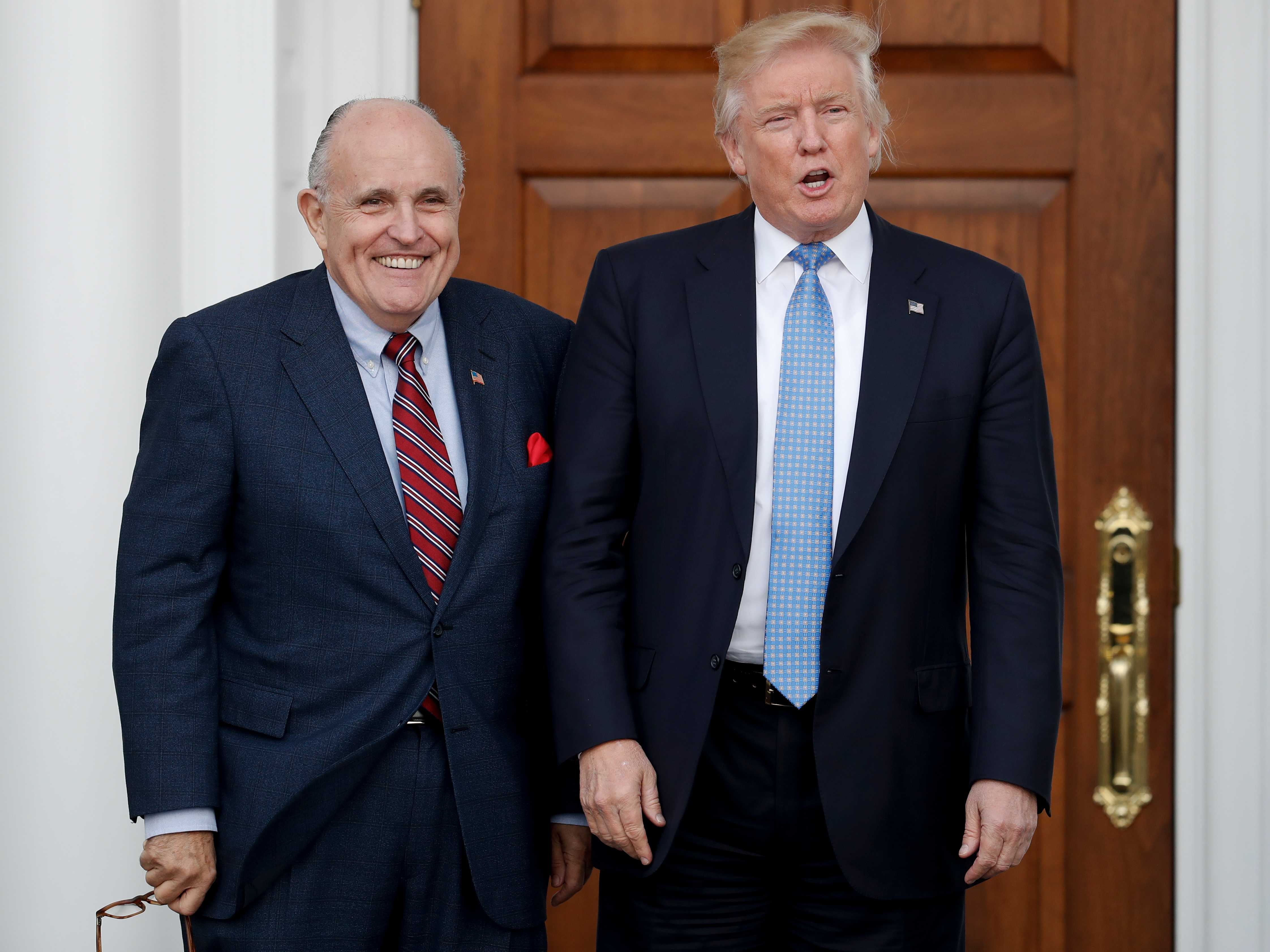 Giuliani Adds Toughness, Star Power to Legal Team for Trump