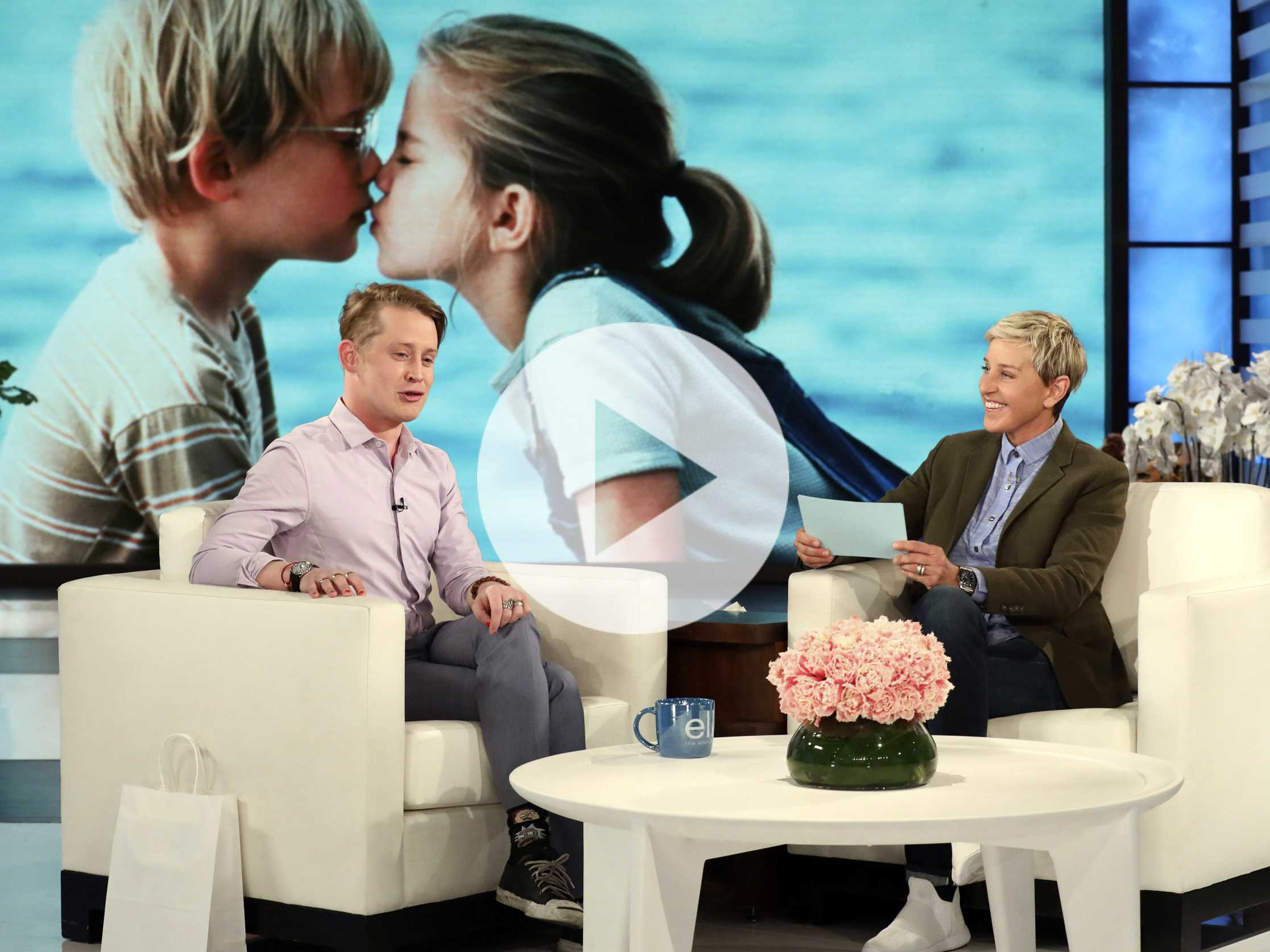 Watch: Macaulay Culkin Tells Ellen He Avoids Watching 'Home Alone'