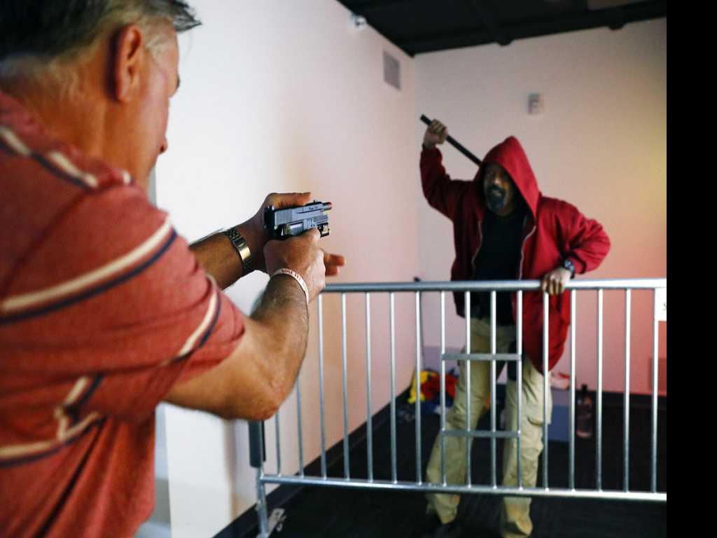 Las Vegas Mob Museum Lets People Play Police Officer