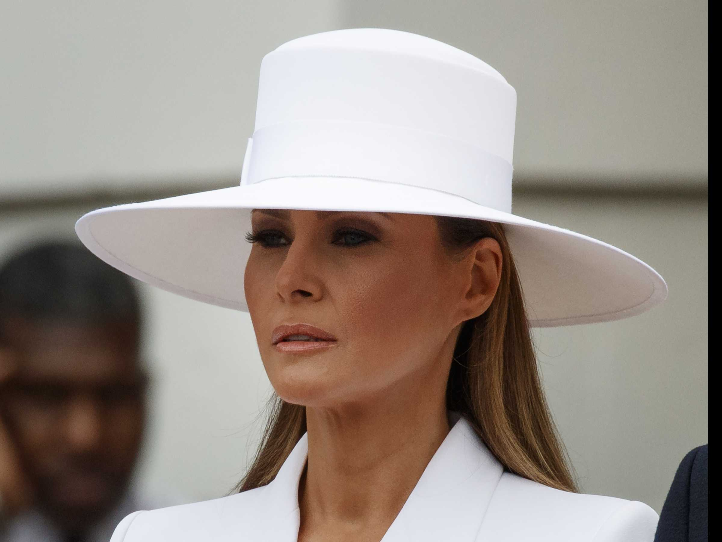 Does Anyone Still Wear a Hat? Yes, Melania Trump
