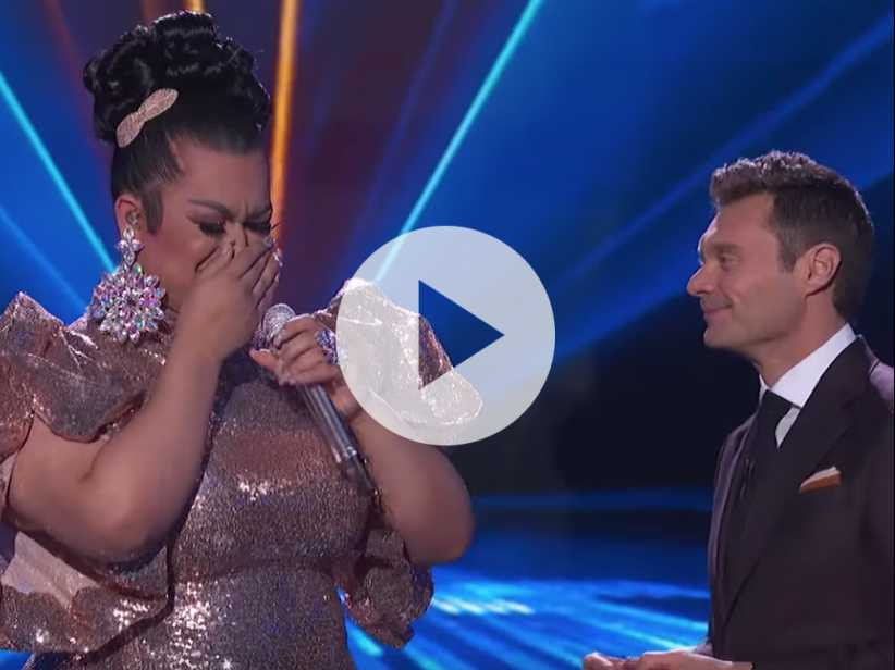 Watch: 'American Idol' Judges Save Drag Queen Ada Vox from Being Voted Off