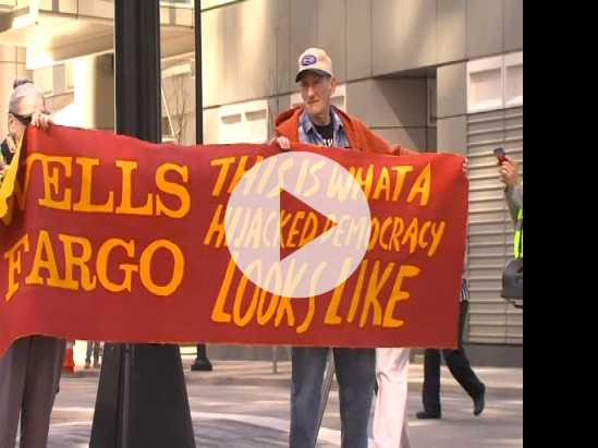 Scandal Plagued Wells Fargo Face Protesters