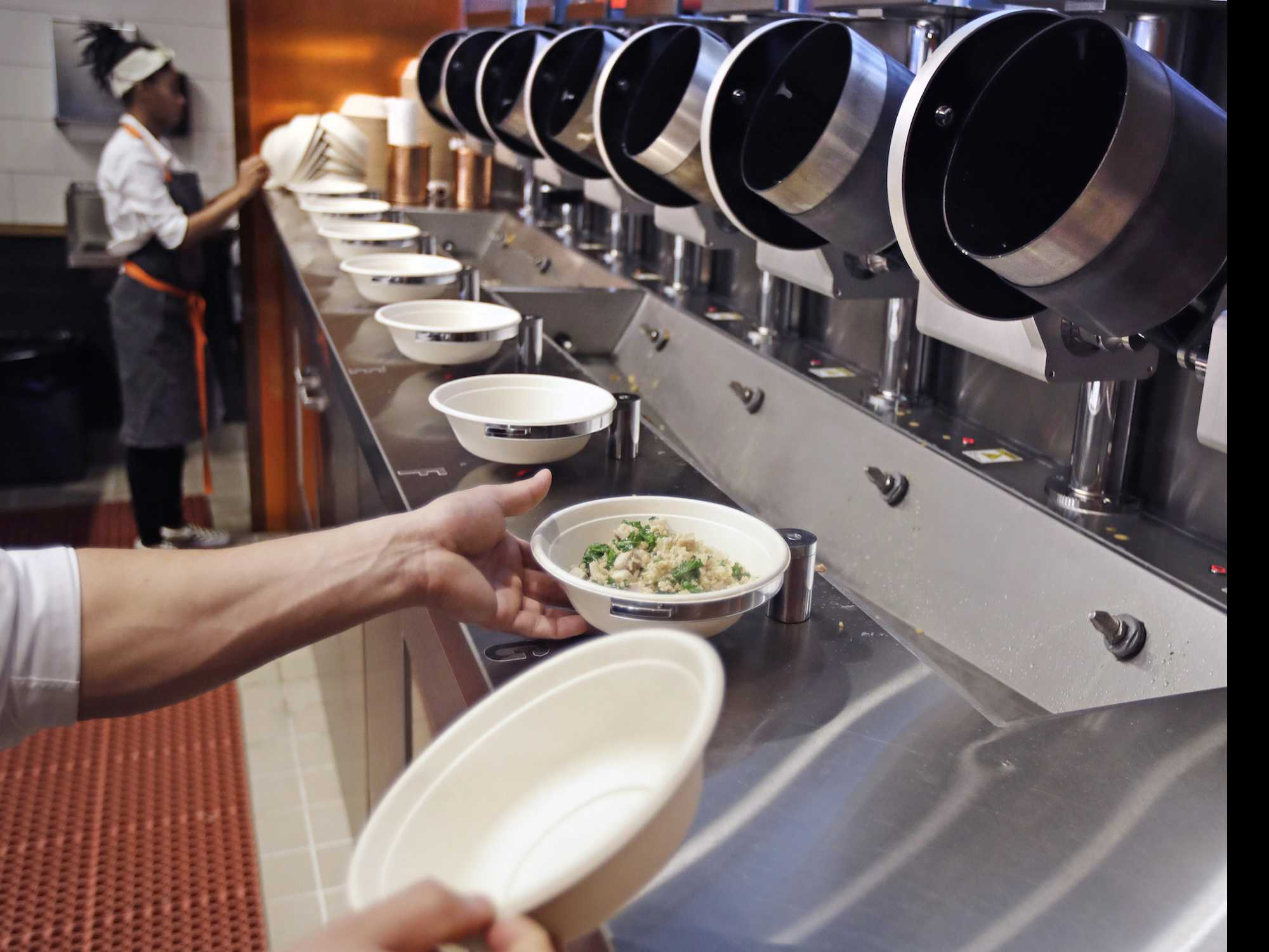 Robot Fast-Food Chefs: Hype or Sign of Industry Change?