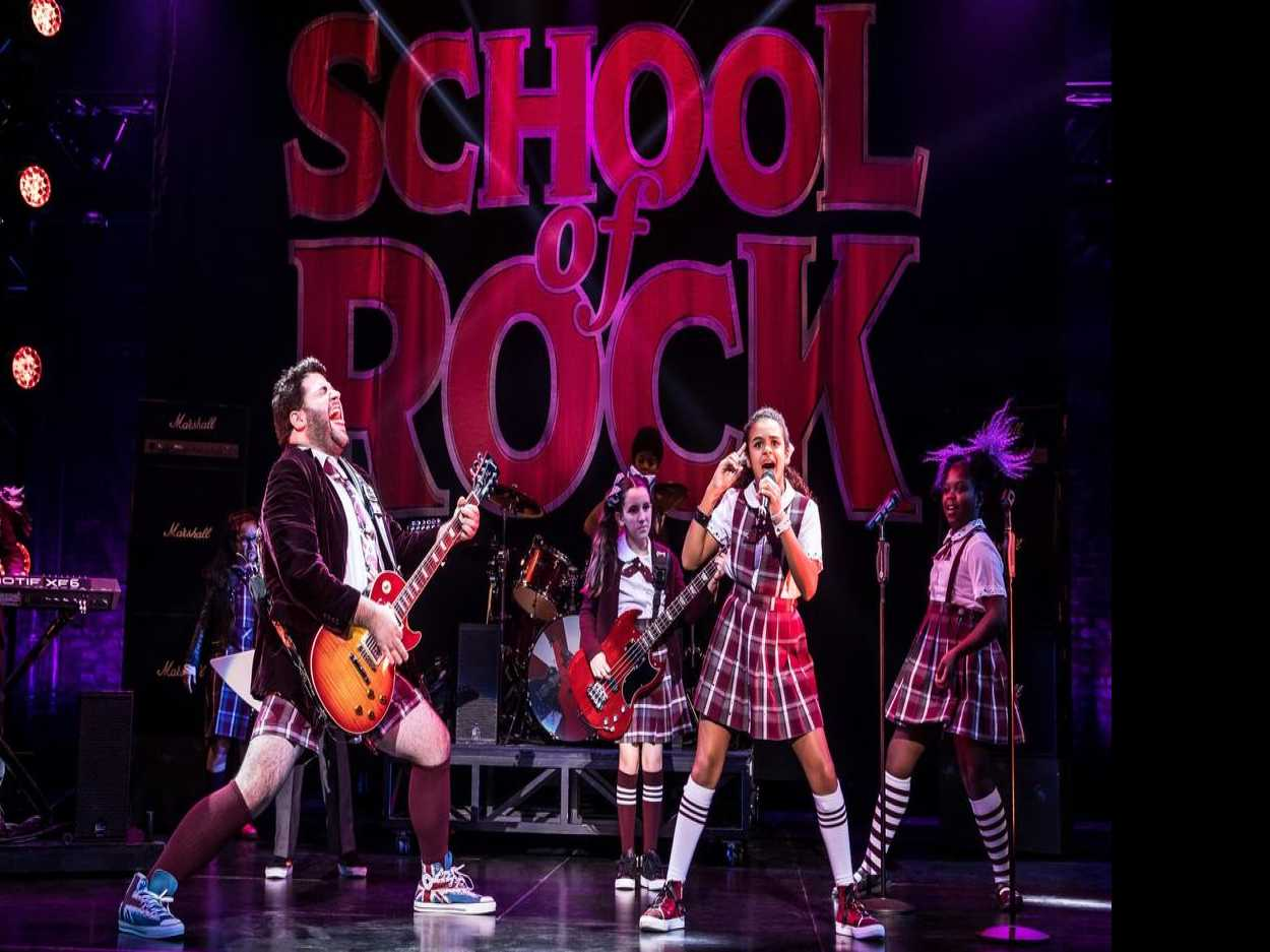 Review :: School of Rock - The Musical