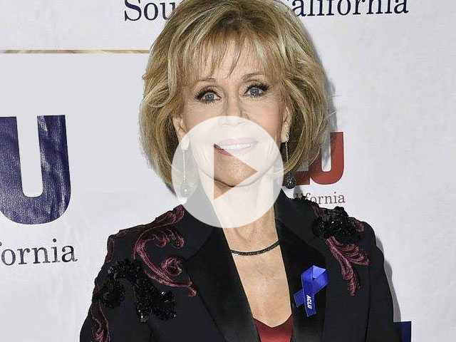 PopUps: Jane Fonda Says She's No Longer Dating and has 'Closed Up Shop Down There'