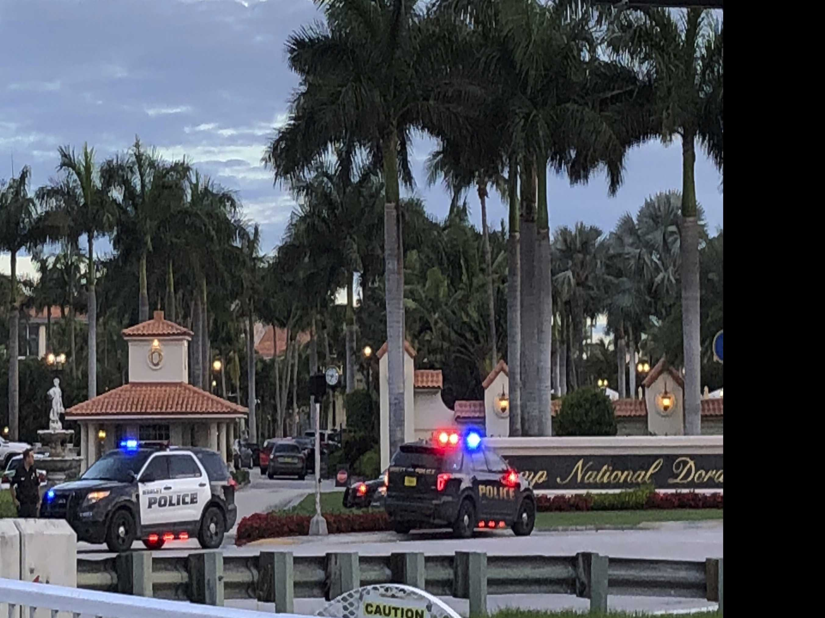 Police: Man Arrested After Firing Shots at Trump Golf Club