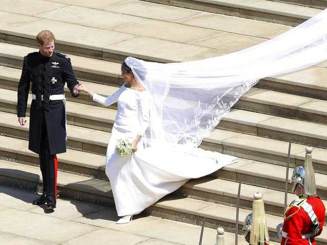 A Closer Look at Markle's Royal Wedding Gown