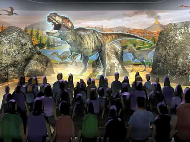 'Jurassic Park' Dinosaur Expert's Next Big Thing: Holograms