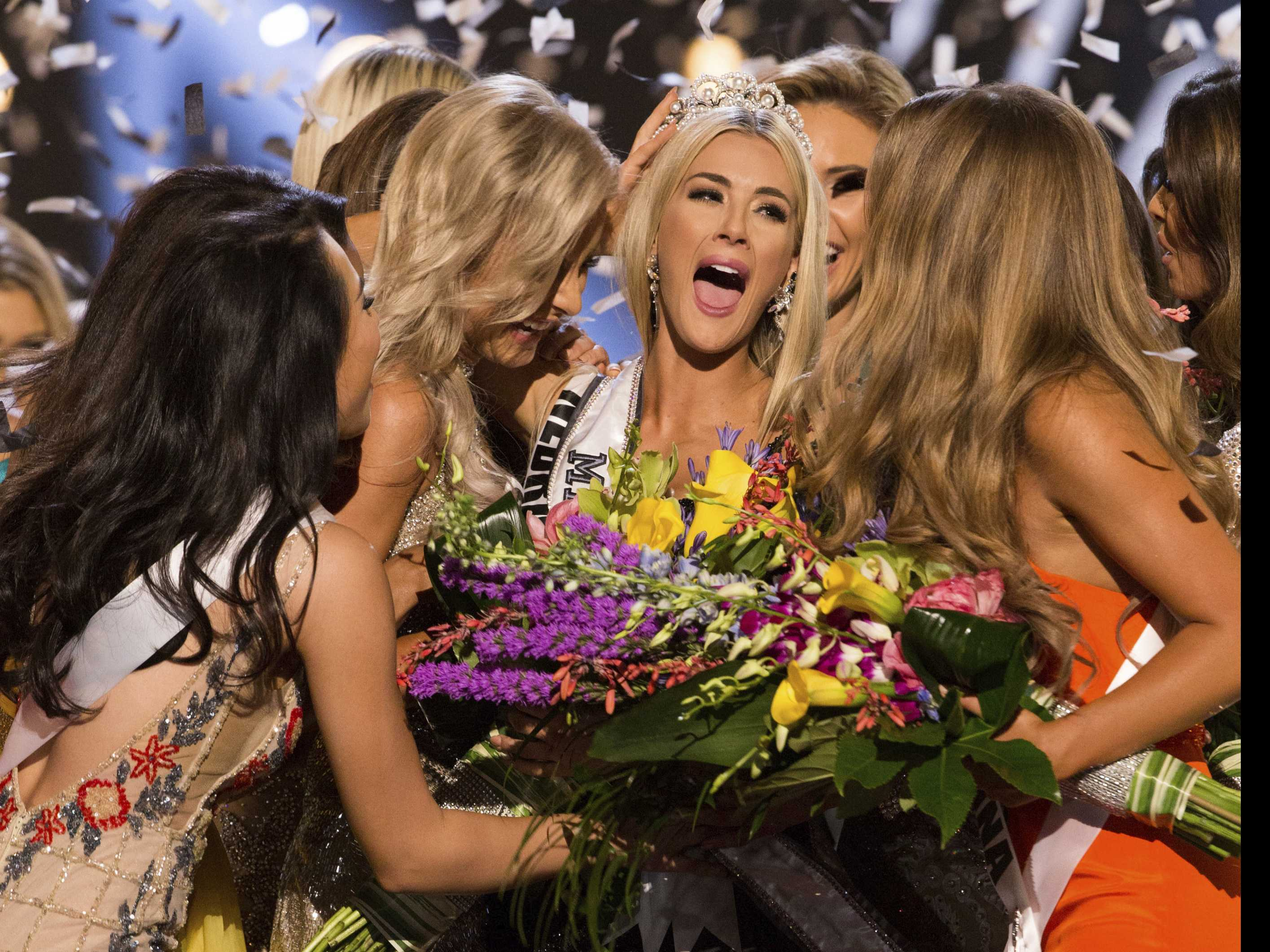 Miss Nebraska Winner of Miss USA Competition