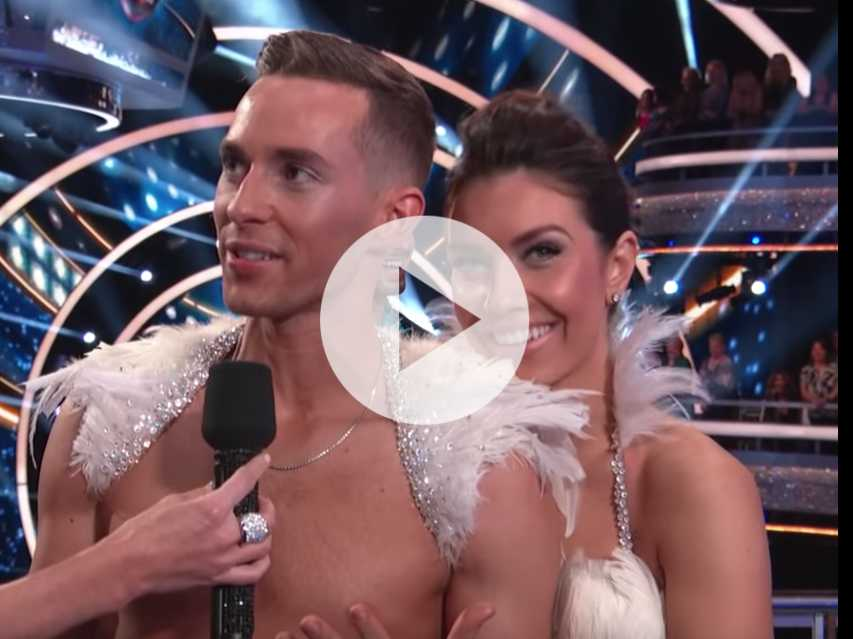 Watch: Did Adam Rippon Just Win 'Dancing with the Stars'?