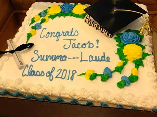South Carolina Grocery Censors 'Summa Cum Laude' on Graduation Cake