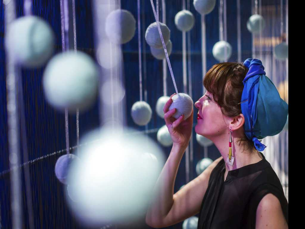 Beyond Vision: An Exhibit to Touch, Hear and Smell, Too