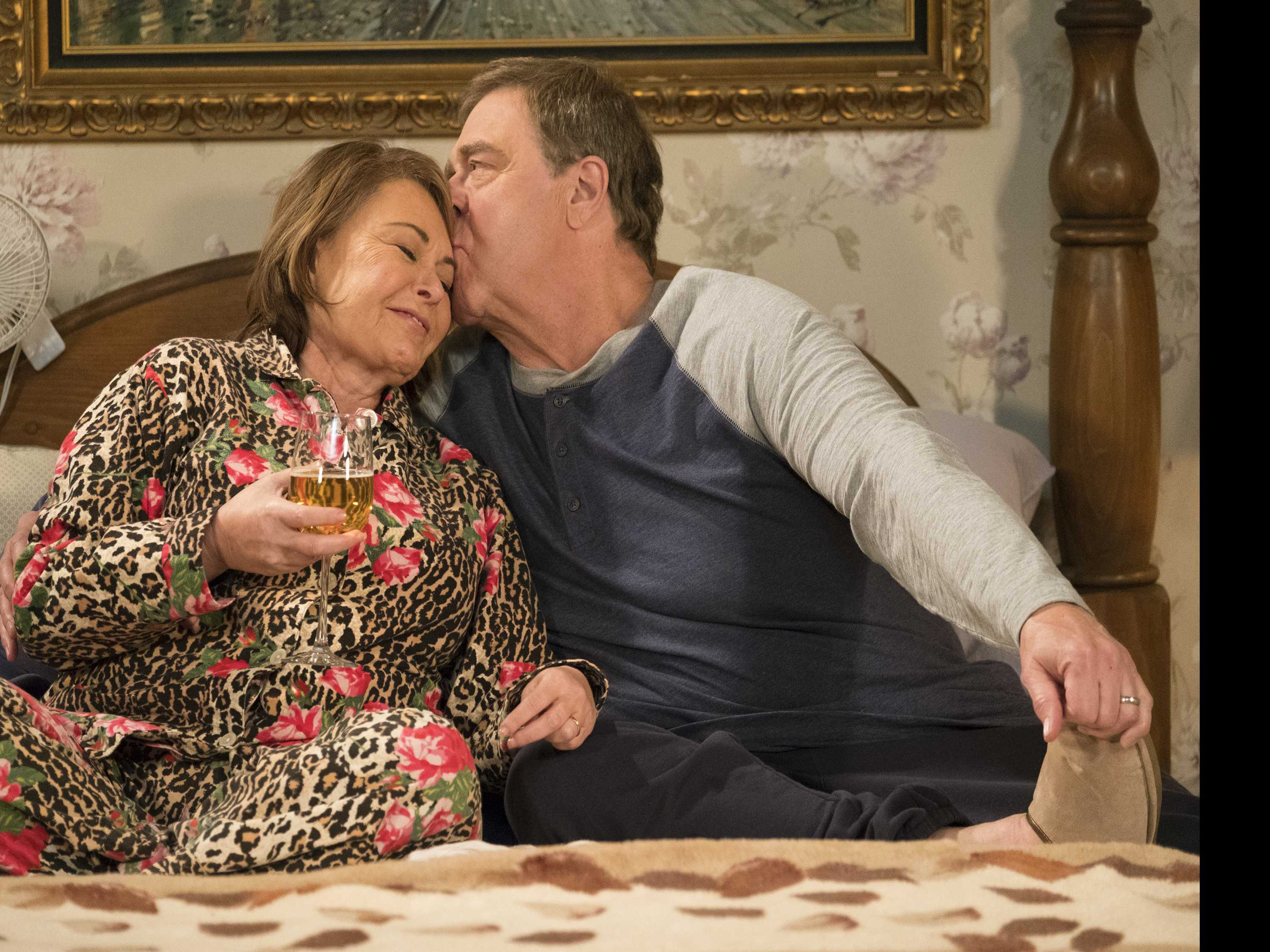 'Roseanne' Ends Season with a Hopeful Note as Storms Brew
