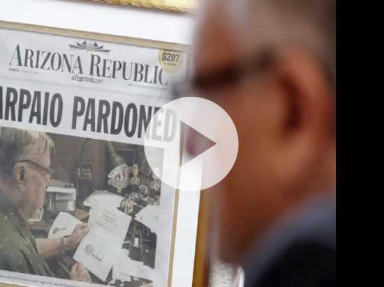 Former Arizona Sheriff Arpaio Seeks Senate Seat