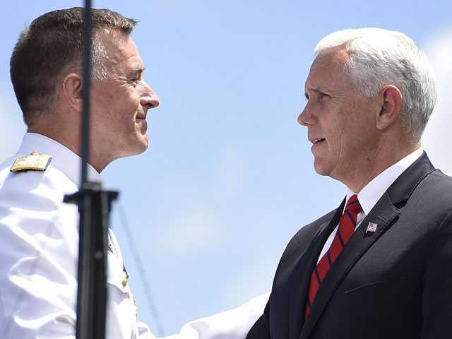 Pence Warns Coast Guard Graduates of the Perils Facing US