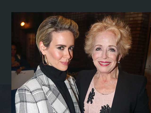 Sarah Paulson Defends Relationship with Holland Taylor