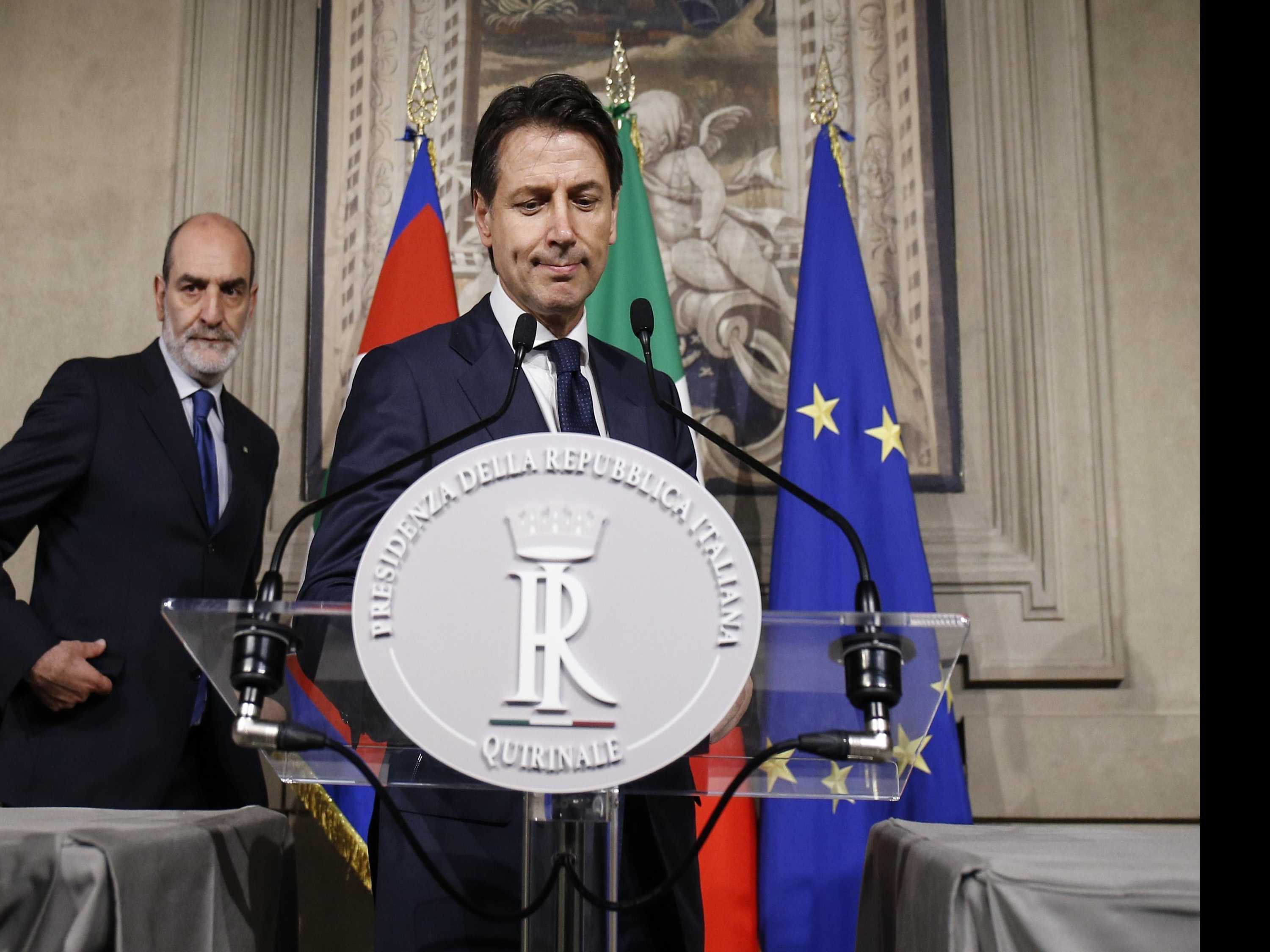 Economist to Lead Italy to New Election Amid Political Drama