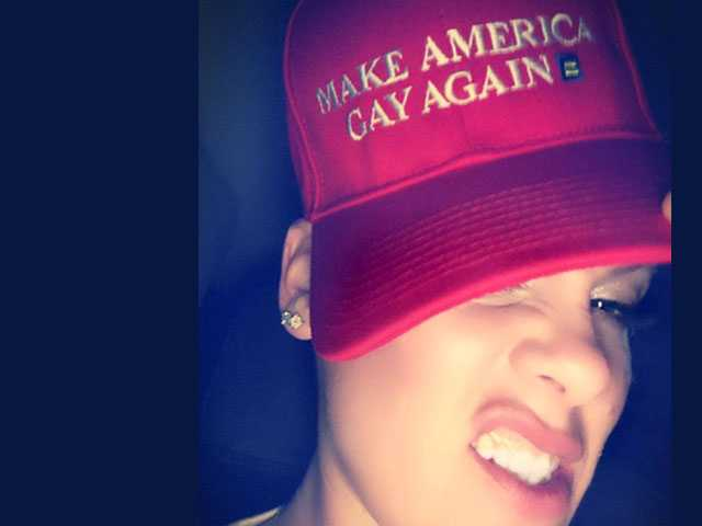 PopUps: P!nk Sports 'Make America Gay Again' Hat, Twitter Reacts