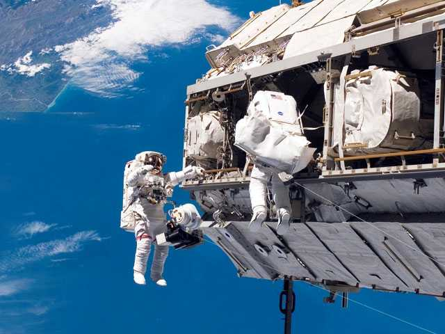 New NASA Chief Vows U.S. Will Always Have Astronauts in Orbit