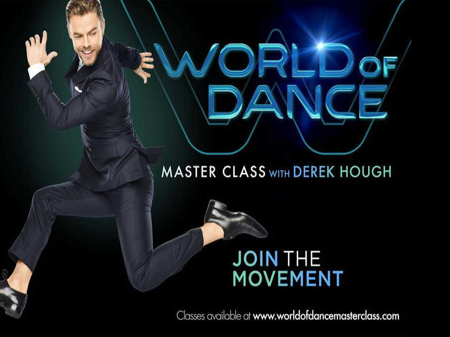 'World of Dance Master Class with Derek Hough'' Brings Viewers to Their Feet