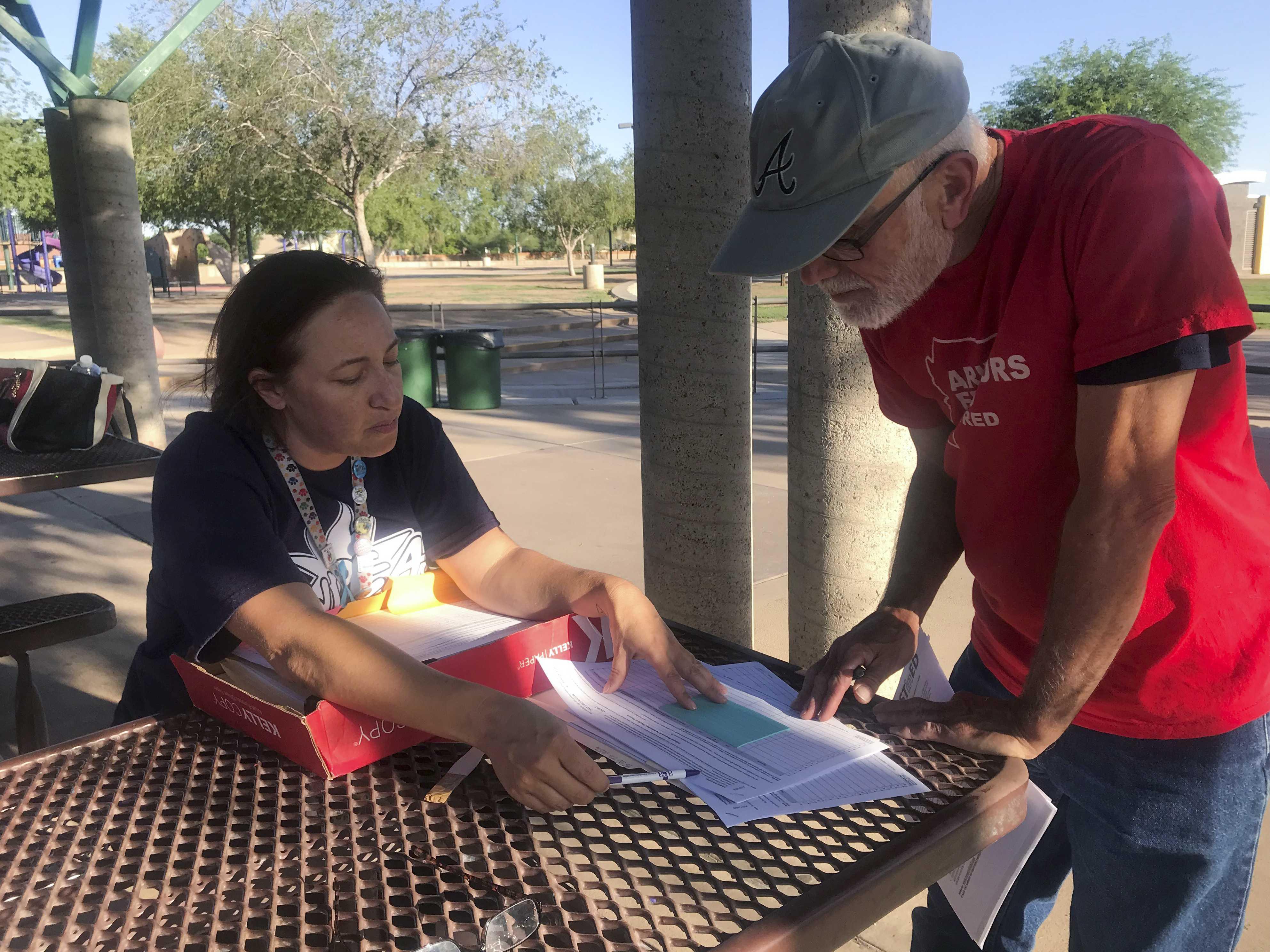 Energized Arizona Teachers Turn Attention to Tax Proposal