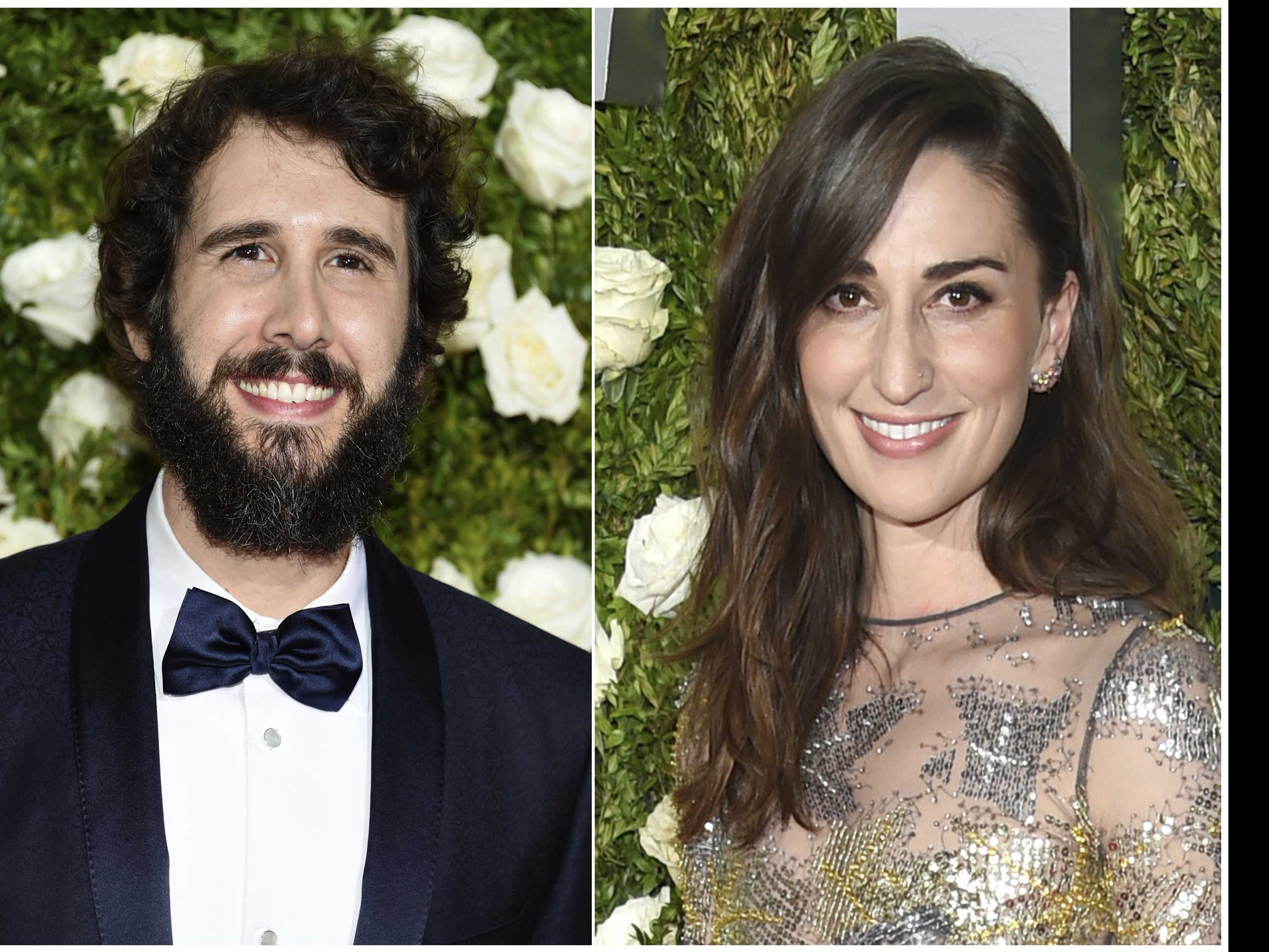 Josh Groban, Sara Bareilles Rely on Each Other for Tony Gig