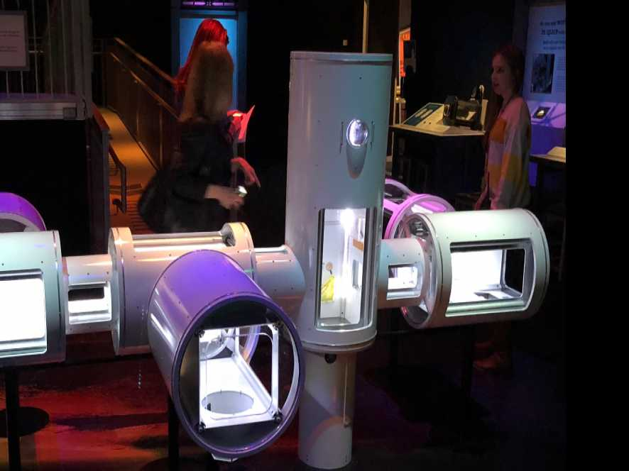 'SPACE: An Out-of-Gravity Experience' at Boston's Museum of Science