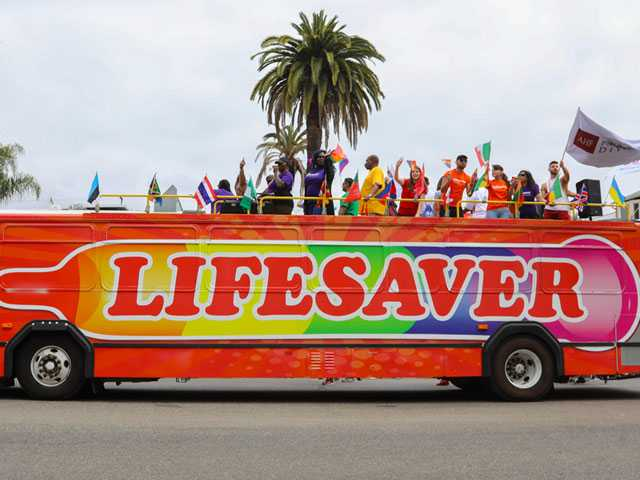 AHF Rolls Out Lifesaver Bus at LA Pride and Beyond