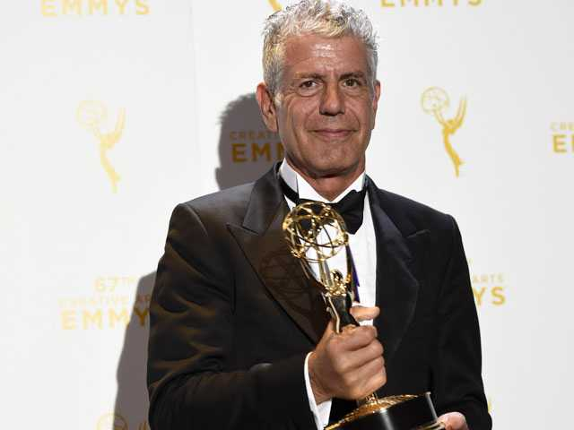 Writer of Viral Olive Garden Review Grateful for Bourdain