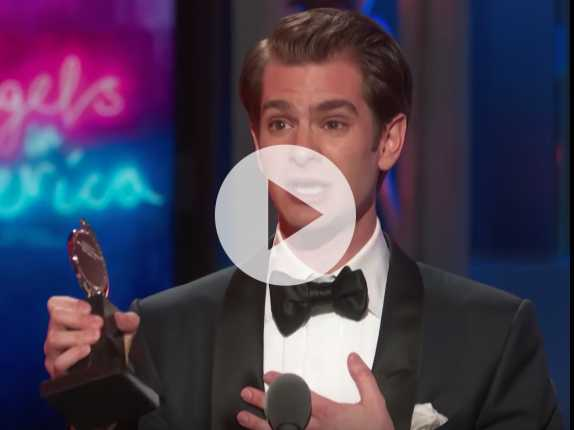 Watch: In Moving Speech, Andrew Garfield Dedicates Tony Award Win to LGBTQ Community