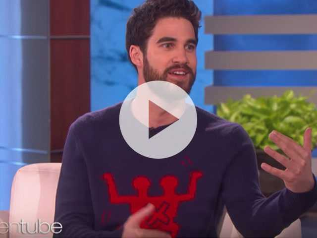 Watch: Darren Criss Says He's Not Worried About Being Naked On Screen, Thanks to 'Versace'