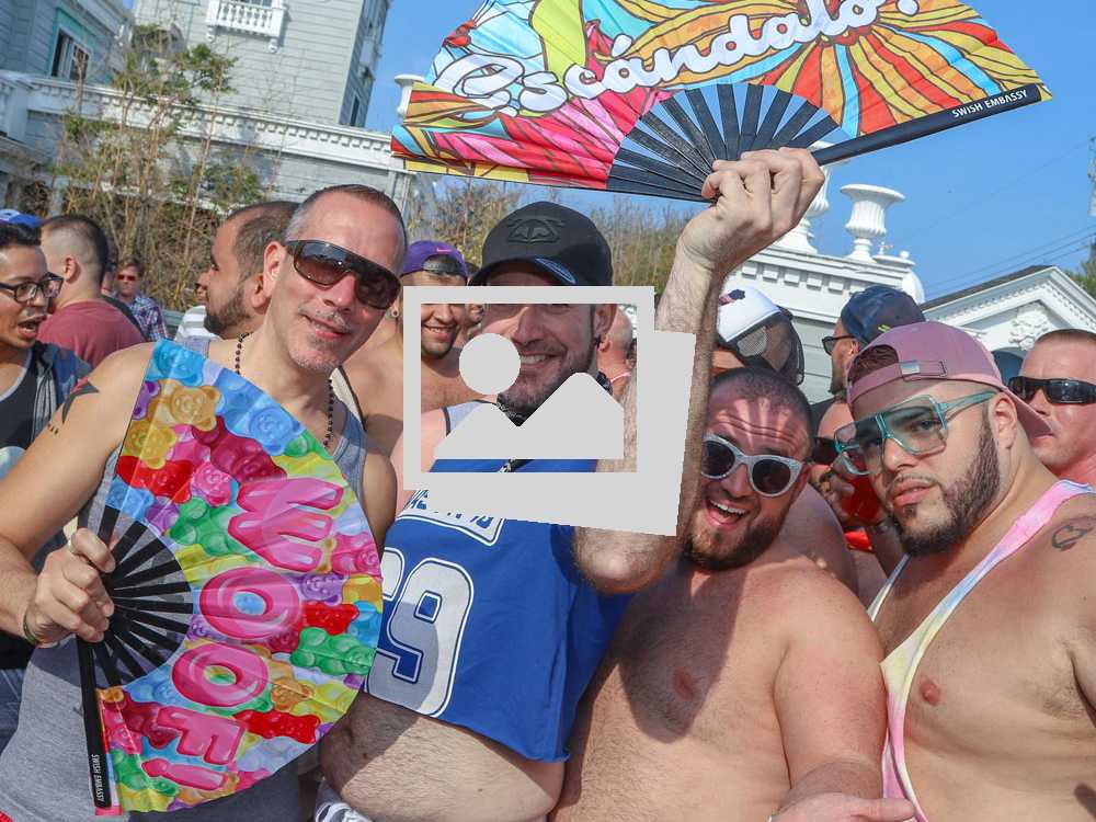 Fire Island Bear Ass Pool Party @ The Belvedere Guest House :: June 8, 2018