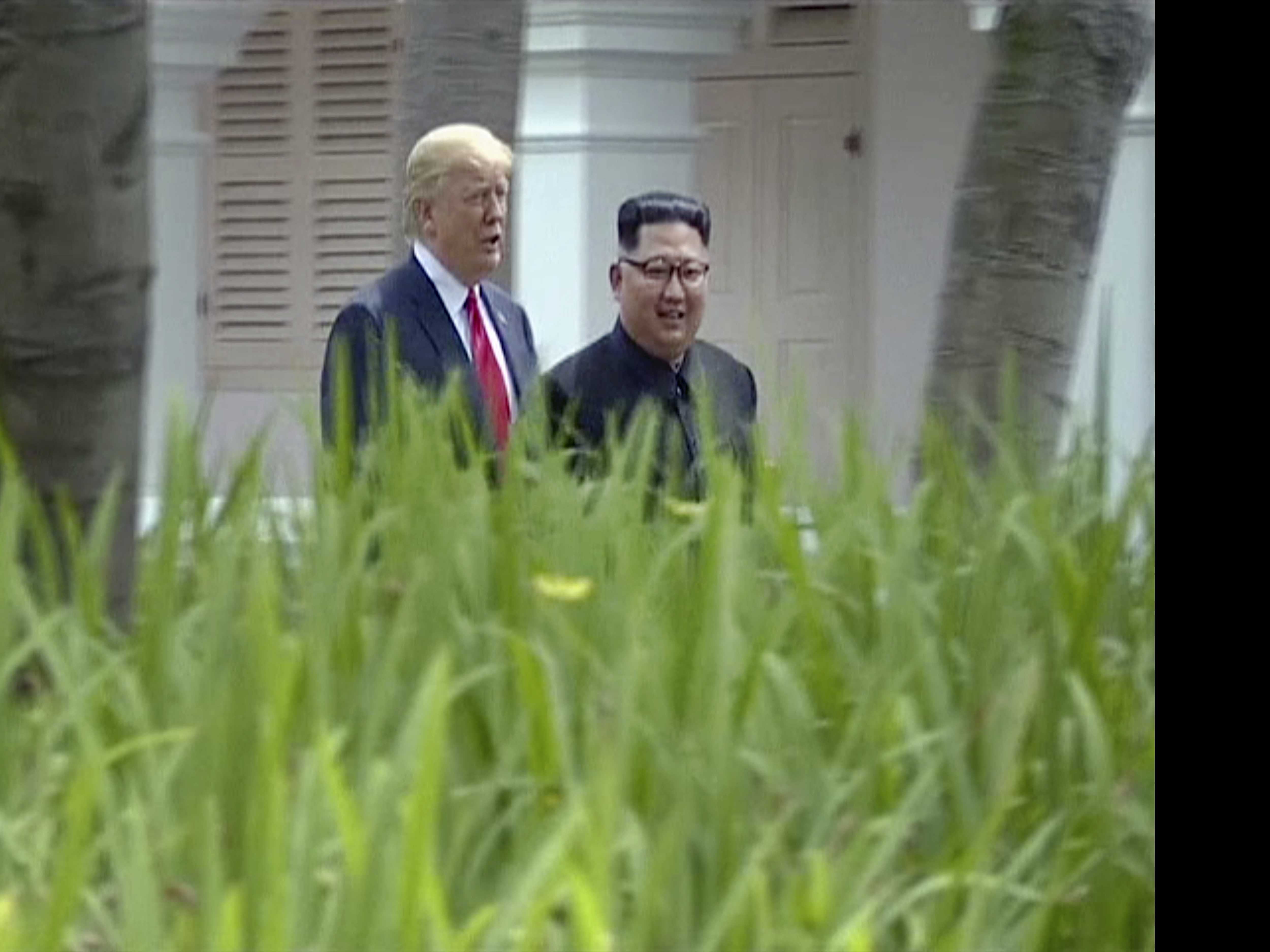 After Summit, North Korea Shows Trump in New Light