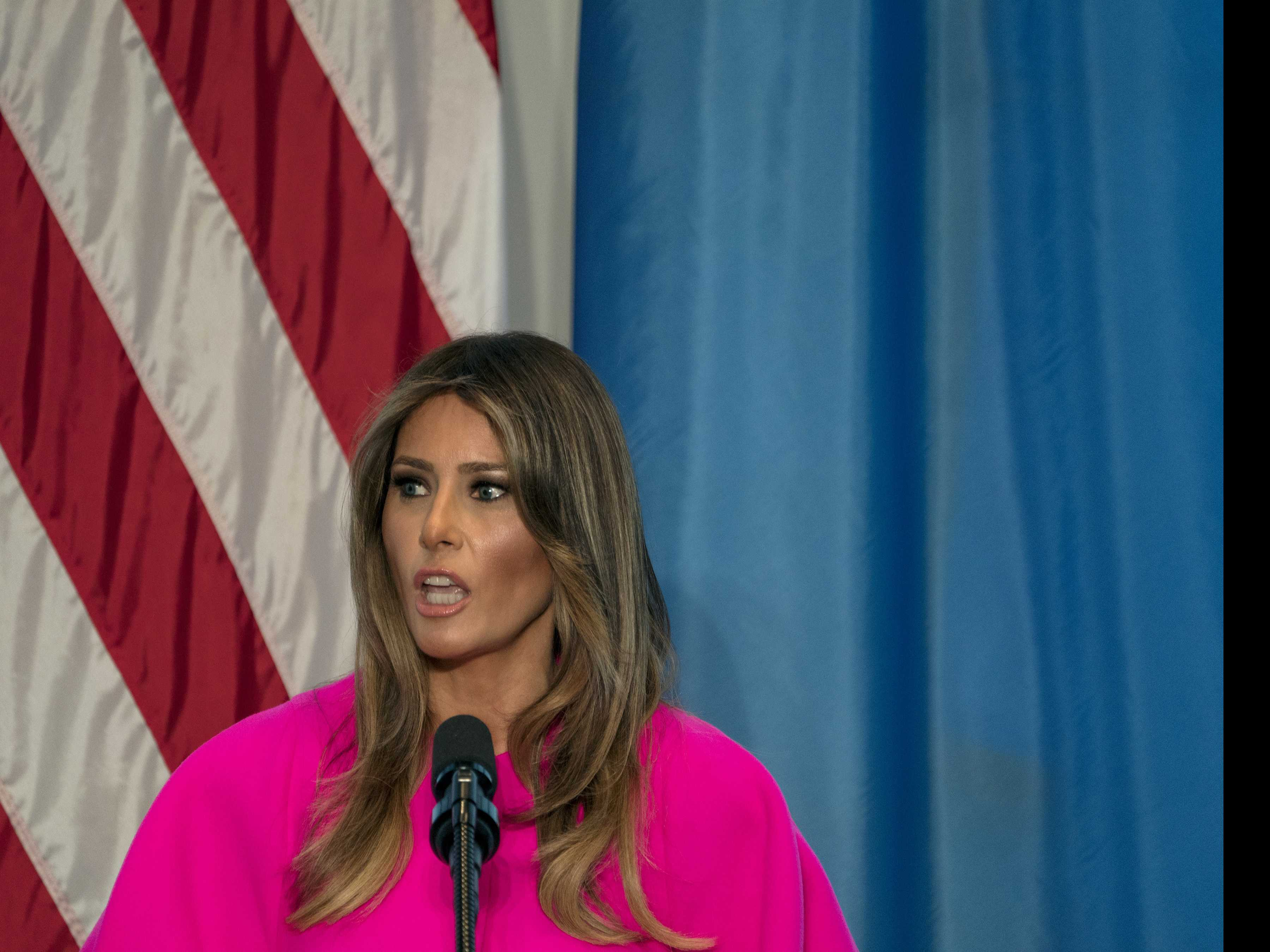 First Lady Melania Trump 'Hates' to See Families Separated