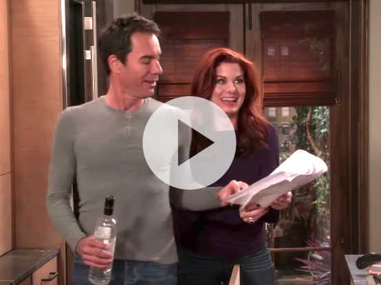 Watch: 'Will & Grace' Shares Hilarious Bloopers Video
