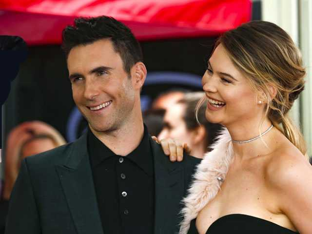 Adam Levine, Behati Prinsloo Share Baby Photo