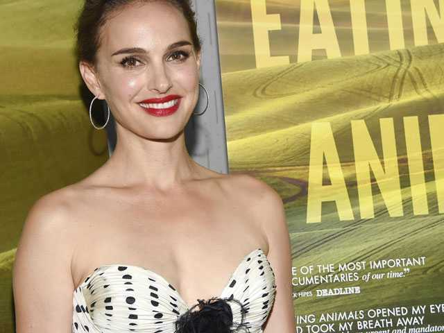 Natalie Portman, Jonathan Safran Foer Target Factory Farming