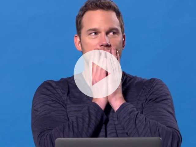 Watch: Chris Pratt Takes BuzzFeed Quiz to Find Which Famous Chris is His Soulmate
