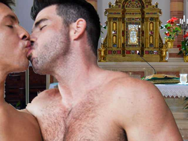 Priest on 'Personal Leave' after Altar-Top Gay Sex Video Comes to Light