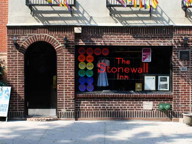 Stonewall Inn Window Smashed by Baseball Bat-Wielding Man